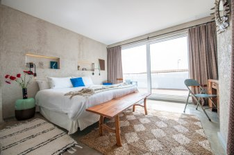 Kook Hotel Tarifa Superior Deluxe Room With terrace and seaviews